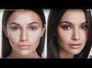 Мастер-класс по скульптурированию лица. Модель Мария Мельникова.