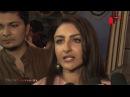 Actress Soha Ali Khan and Vir Das seek blessings at Andheri Cha Raja
