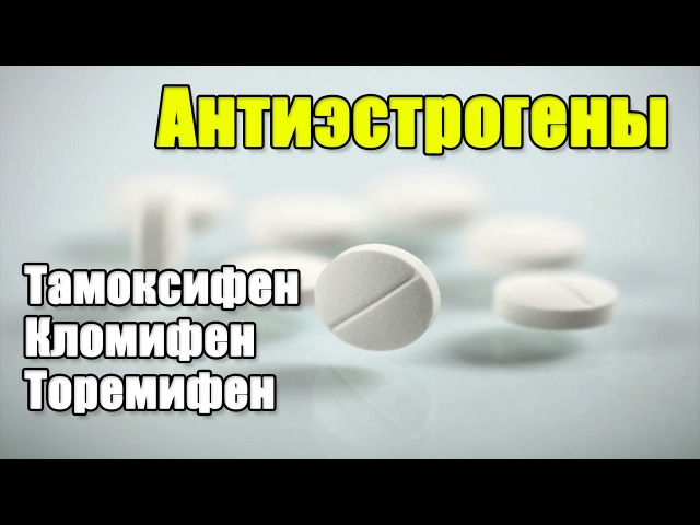 АНТИЭСТРОГЕНЫ Кломифен Торемифен Тамоксифен
