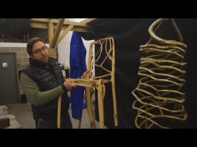 Британец выращивает мебель из деревьев (новости)