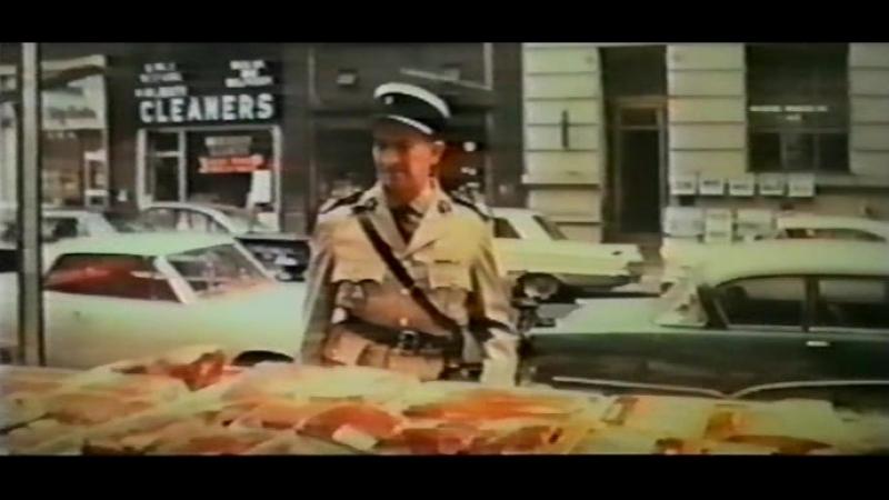 Луи де Фюнес в фильме Жандарм в Нью Йорке Комедия приключения Франция Италия 1965