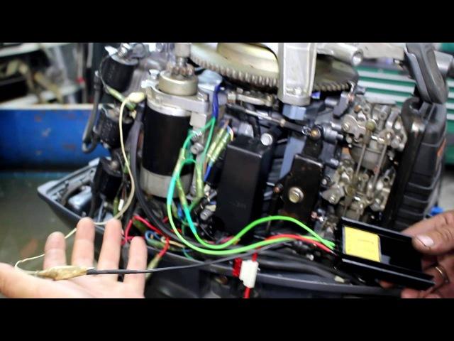 Тест выпрямителя регулятора для лодочного мотора врнл 1 и рнл 2
