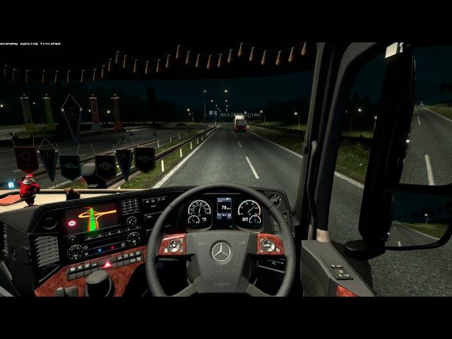 ETS 2 MP EuroTruck Simulator 2 Multyplayer 12 10 2016