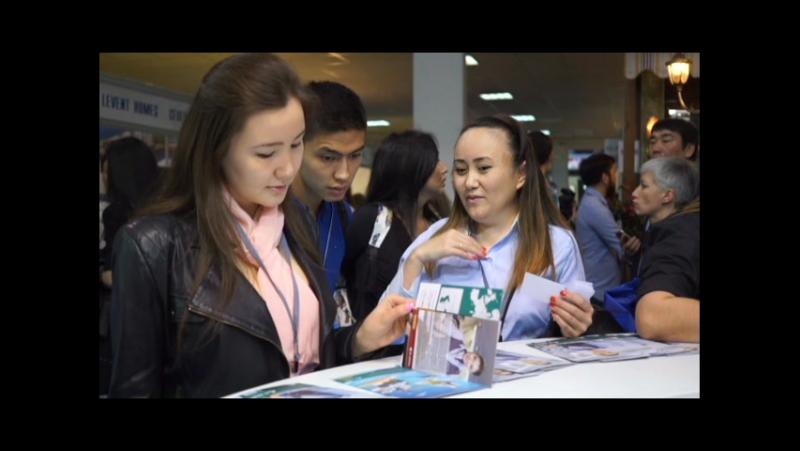 Авиакомпания Эйр Астана на 17 й Международной туристской выставке KITF 2017