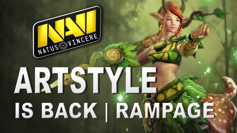 ArtStyle is Back Enchantress RAMPAGE - NaVi vs Secret Dota Pit S4 Dota 2