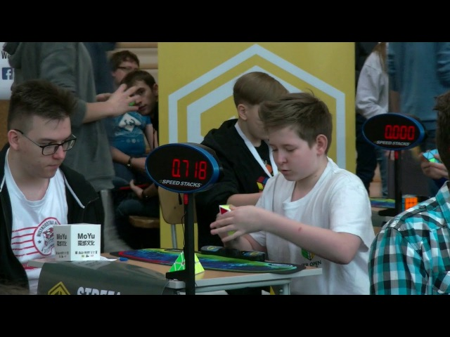 Tymon Kolasiński Pyraminx World Record single - 1.20
