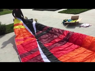 BGD Base Paraglider Unboxing and Maiden Flight