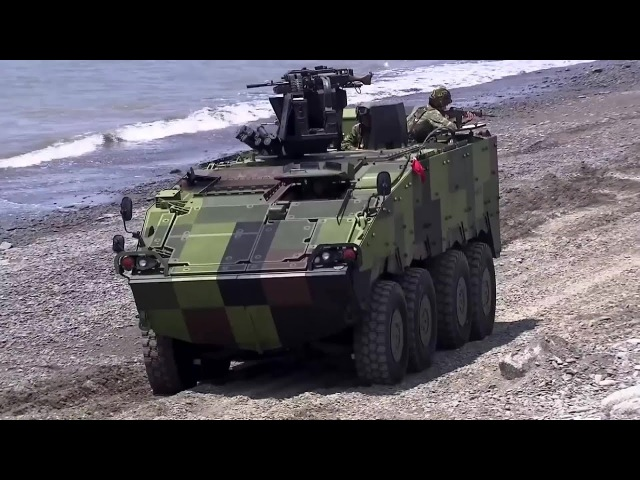 NCSIST Clouded Leopard 8X8 Armoured Fighting Vehicle Variants 1080p