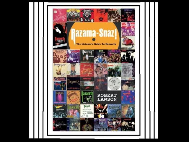 Nazareth Book 2016 - Razama-Snaz! The Listeners Guide To Nazareth