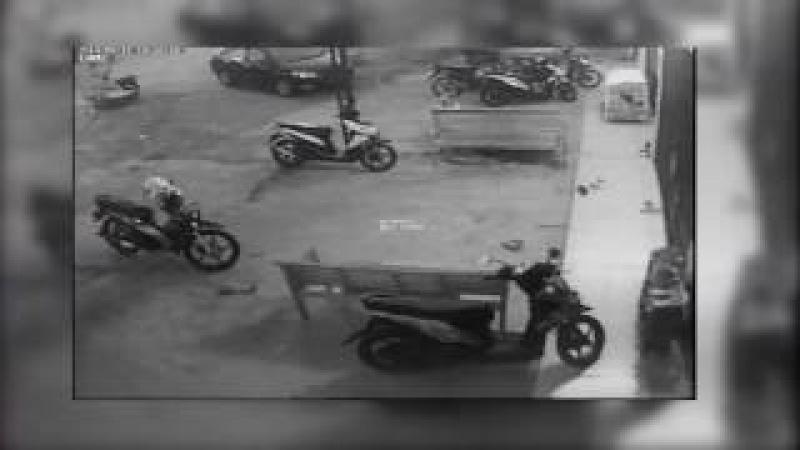 Rekaman CCTV Pencuri Motor Kantor Majalah PROTET