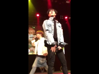 FANCAM 161111 Югём - BoomX3 @ Fan-Meeting in Vancouver (Canada).