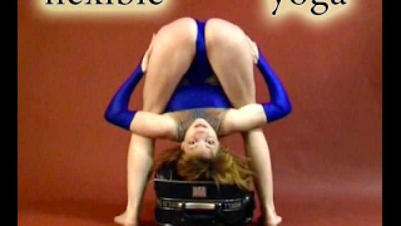 Gymnastic Stretch Flexibility Amazing Contortionist   Extreme contortion Flexilady model yoga