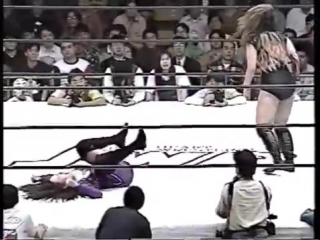 Devil Masami (JWP) vs Bull Nakano (AJW) Clipped