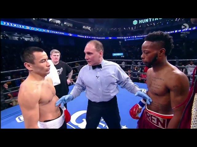 Рауш Уоррен Жанат Жакиянов HD Rau'shee Warren vs Zhanat Zhakiyanov FULL FIGHT