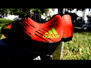 Обзор сороконожек Adidas Messi 15.4 TF Black Review AF4683