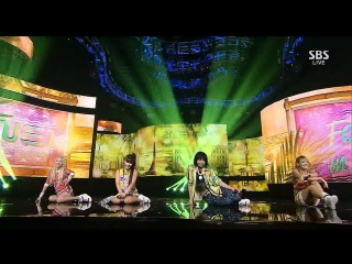  Выступление  2NE1 - FALLING IN LOVE @SBS Inkigayo.