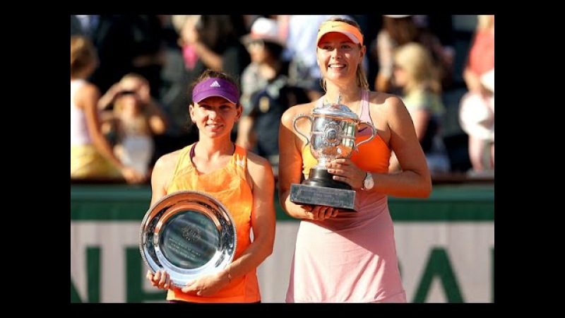Maria Sharapova VS Simona Halep Highlight 2014 F