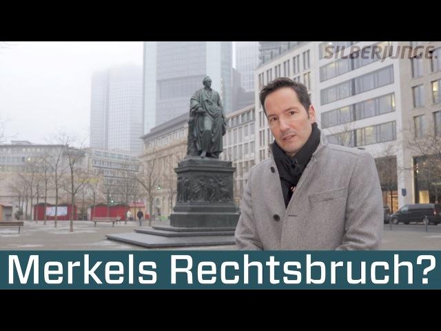 Merkels Rechtsbruch Unglaubliches zur Grenzöffnung zur Migrationswelle Flüchtlinge 2017