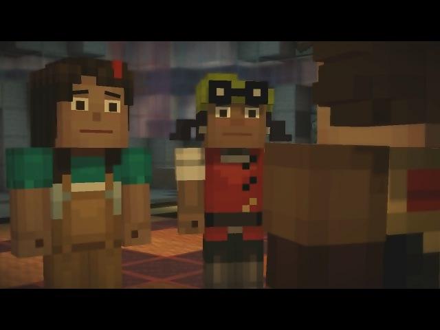 СУМАШЕДШАЯ ЭЛЬГОРД - Minecraft : Story Mode 5