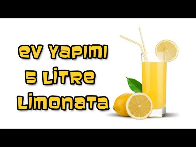 2 Limon 1 Portakalla 5 Litre Limonata-Mutlaka Denemelisin