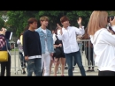 "[VK] 11.11.2016 Fancam U-KISS (Soohyun Jun dancing Laboums ""Journey to atlantis"") @ VIETNAM FOOD CULTURE FESTIVAL HaNoi"