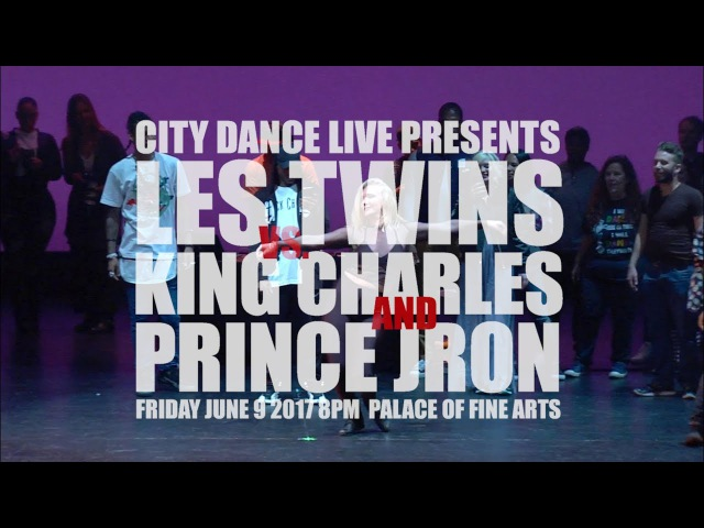 Les Twins   Larry Bourgeois   King Charles   Prince Jron and Tomahawk Bang   City Dance Benefit