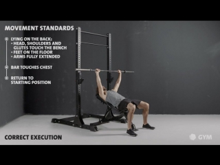 Incline bench - freeletics gym