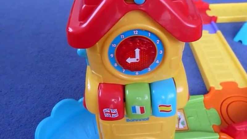 железная дорога VTech Go! Go! Smart Wheels. Tut Tut Baby Zuge - Spielset Bahnhof von Vtech Go! Go! Smart Wheels Train