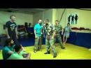 2 октября 2014. занятие класса Борьба на Любки в клубе Гамаюн