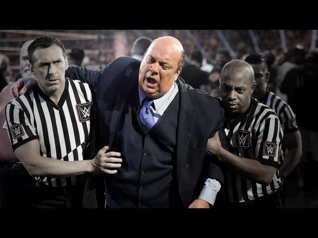 Paul Heyman reacts to Samoa Joe's Raw beatdown