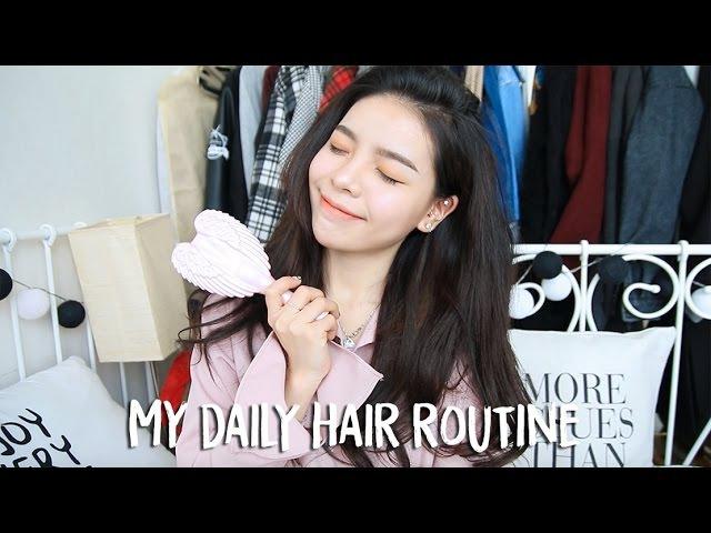 My Daily Hair Routine Voluminous Hair Erna Limdaugh