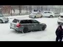 Первый снег 2017 во Владивостоке 120 аварий за вечер
