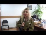 Интервью Сары Окс перед выступлением в Некрасовке