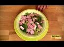 Рецепт от Анны Седоковой Салат сдыней иветчиной. Контрольная закупка на Первом канале