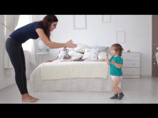 Три варианта утренней зарядки для детей 1-3 лет
