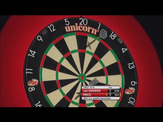Michael van Gerwen vs Gerwin Price (PDC US Darts Masters 2017 / Semi Final)