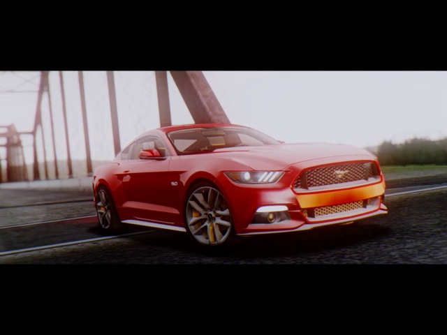 Ford Mustang GT 5 0 2015 GTA San Andreas by DIMEN