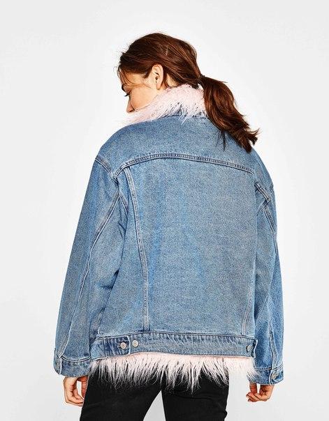 Джинсовая куртка со съемной подкладкой