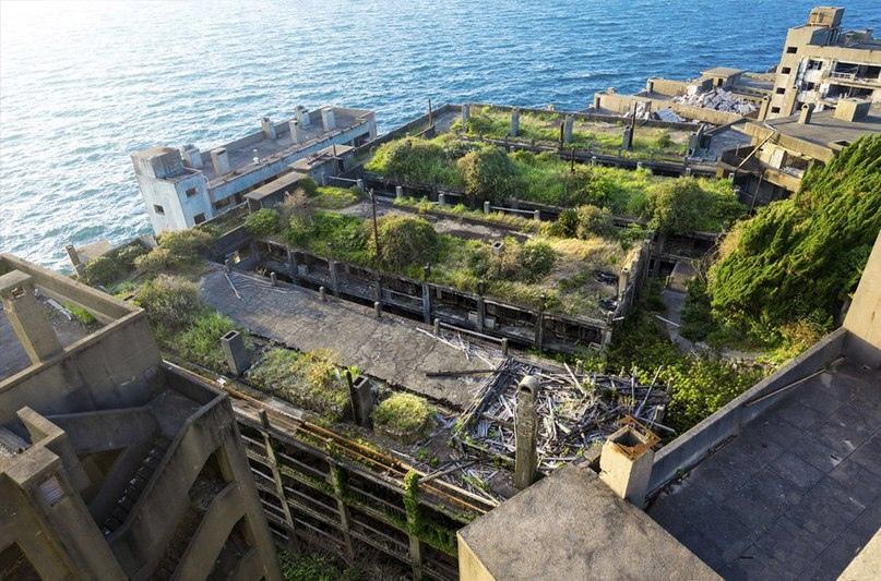 Интересные места нашей планеты Остров Хасима (Япония), изображение №4