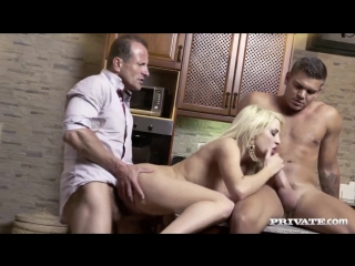 Horny housewife sienna day fucks two men in the kitchen (720) dp group orgy мжм