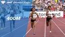 Salwa Eid Naser Wins Women's 400m - IAAF Diamond League Oslo 2018