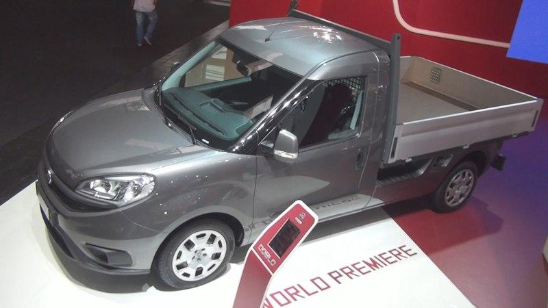 Fiat Doblò Cargo Work Up 2 0 MultiJet II 16v Exterior and Interior in 3D 4K UHD