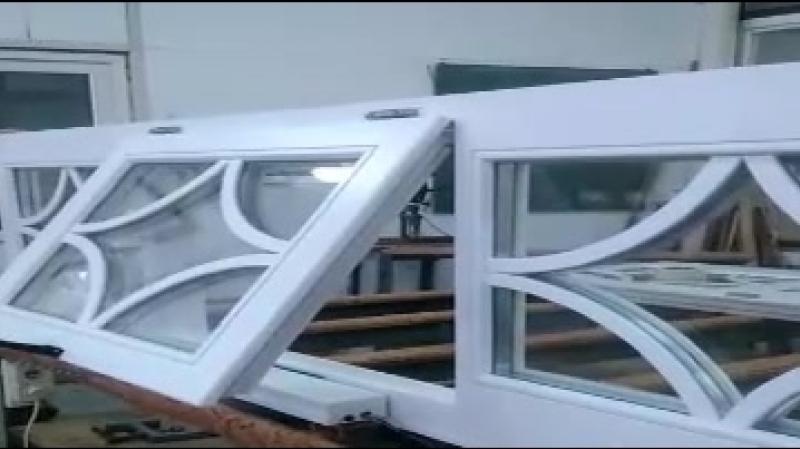 Открывание окна на цепном электроприводе с пультом смотреть онлайн без регистрации
