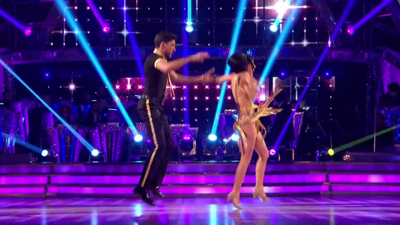 Georgia May Foote Giovanni Pernice Charleston to Hot Honey Rag Strictly Come Dancing 2015