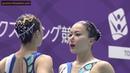 Yukiko Inui Kanami Nakamaki JPN Duet Free Preliminary Japan Open 2018