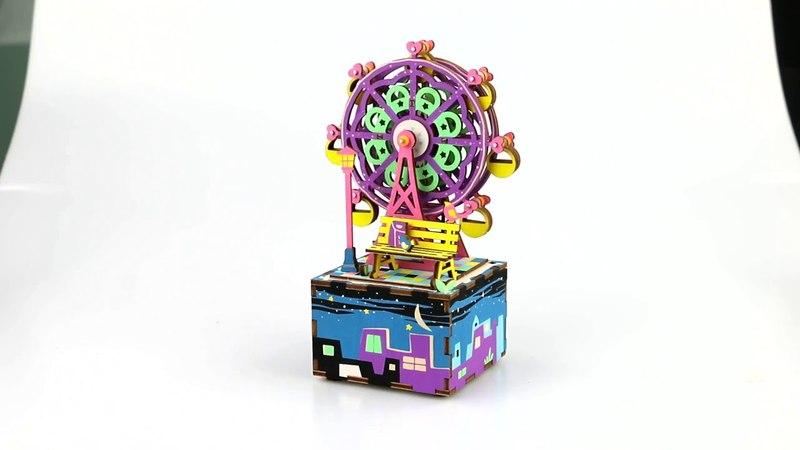 Музична скринька-конструктор RoboTime Оглядове колесо (AM402)