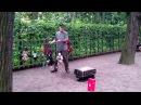 Кукловод Леонид Кондаков. Тина Тернер ( Simply the best). Выступление в Летнем саду