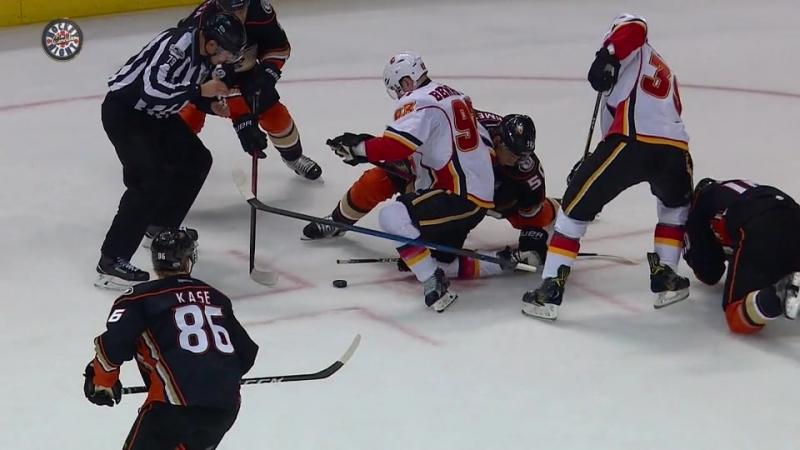 NHL SC 2017 Round 1 Game 1 13 04 2017 Calgary Flames vs Anaheim Ducks