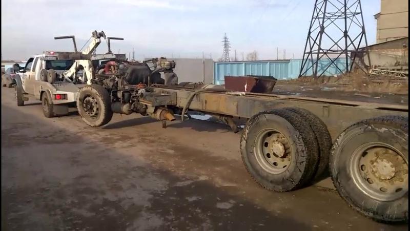 Малотоннажный эвакуатор FORD F-450