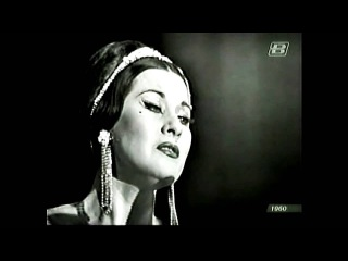 Yma Sumac - Live in Russia - Full concert.   She had a tremendous vocal range, in excess of 6 octaves.  She was a Peruvian Indian.  Beautiful woman of character substance